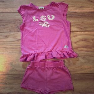 Two pieces baby girl clothes